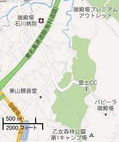 google map(プゲーラ御殿場)